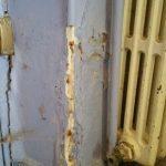 décollement peintures maison ancienne