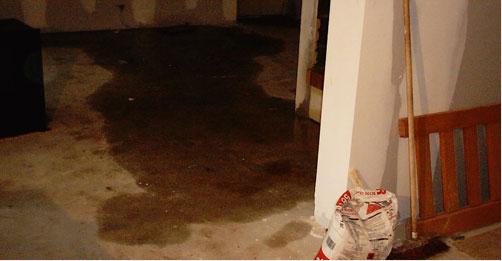 Les causes d'apparition d'un dégât des eaux